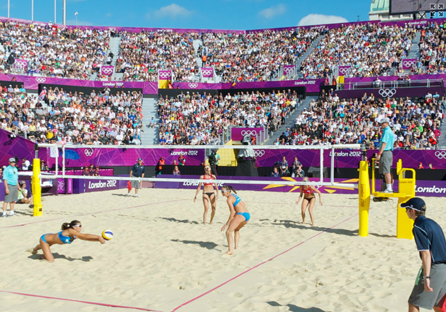 Beach Volleyball In London Rma Sport Equipment And Surfaces