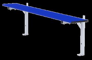 Standard bench 2m long