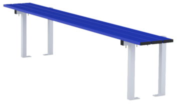 Central bench 2m long