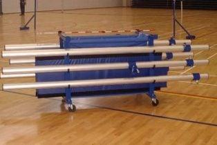 GPT storage trolley in use