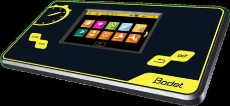 touch screen bodet scoreboard